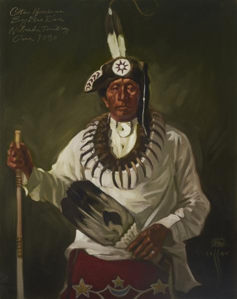 "Otoe Big Blue River Nebraska Territory 31""x37"""