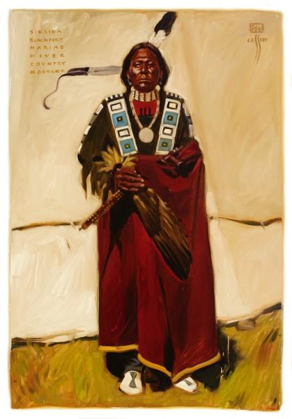 "Siksika Blackfoot 31"" x 45"""