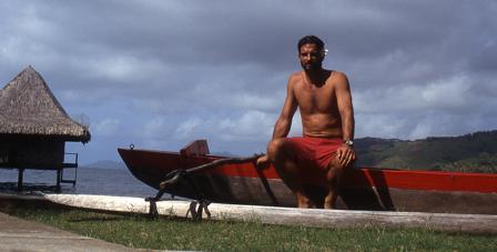 Michael Cassidy in Tahiti