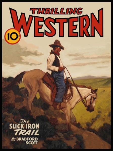 """Thrilling Western 48"""" x 64"""""""