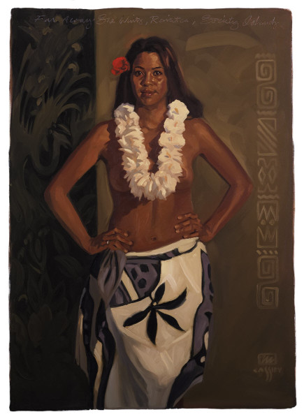 """Far Away She Waits Print Size: Regular 17""""x24"""" Price: $750 Size: Deluxe 28""""x40"""" Price: $1,950"""