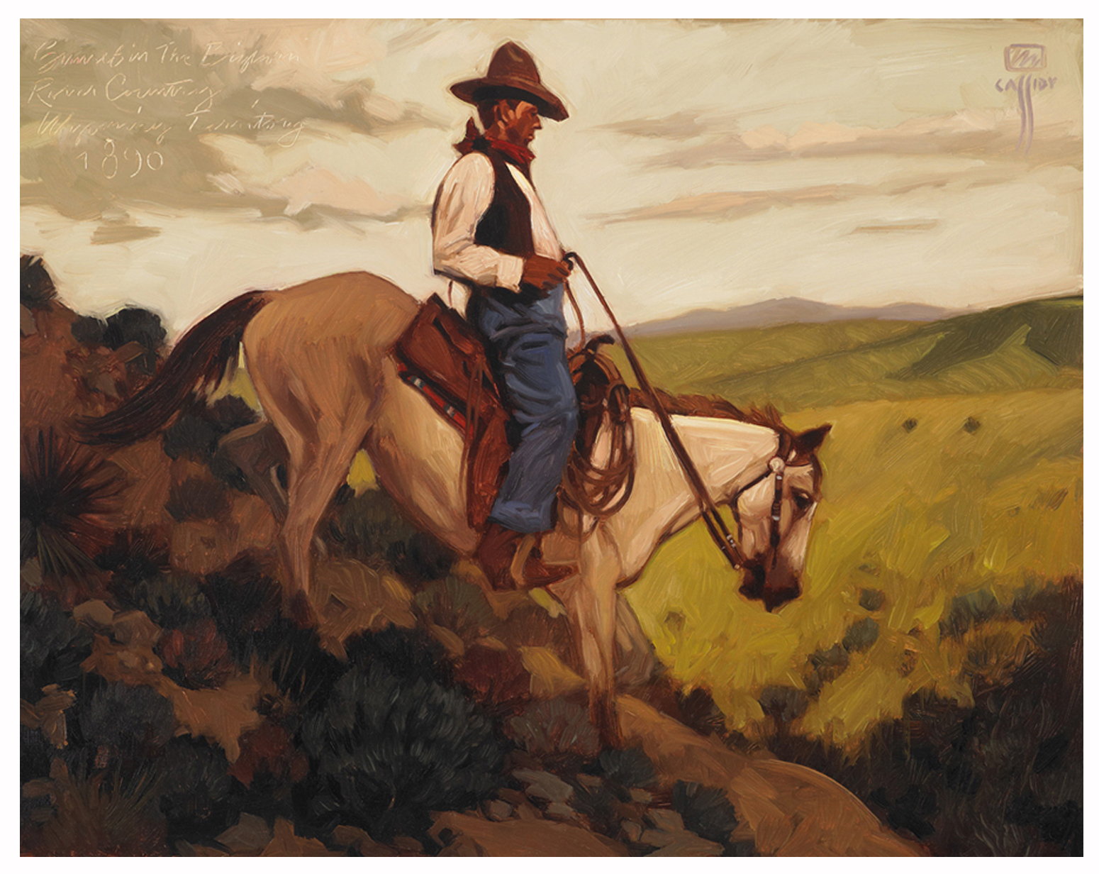 Western Art Prints | Michael Cassidy |