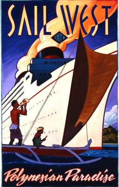 "Sail West Print Size: Regular 16""x20"" Price: $650"