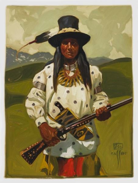 "Shoshone Lemhi Valley 18"" x 24""  $950"
